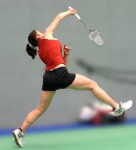 badminton pour perdre du bas du ventre