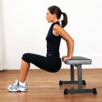 exercice des dips pour maigrir des bras