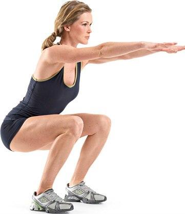 Comment réussir l'exercice du squat fessier dans un programme pour tonifier et muscler ses fesses rapidement